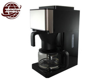Custom Home Coffee Machines Auto Grind Coffee Maker With Black Silver Durable